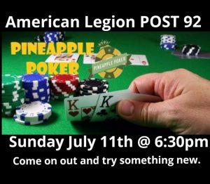 Poker Hollywood Florida Sunday